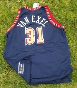 New 1998-99 original PUMA NBA Denver Nuggets Nick Van Exel Jersey size 52/2xl