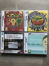 LOT 4 JEUX 100 LIVRES CLASSIQUES JAM WITH THE BAND GOGOS NINTENDO DS NEUF NEW