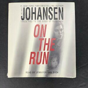 On the Run by Iris Johansen Audio Book Compact Disc CD Unabridged Novel Rare