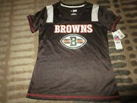 Cleveland Browns NFL Football Jersey Shirt Women's SMALL SM NEW