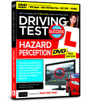 Driving Test Success Hazard Perception  DVD Interactive 2021 Edition (DVD Video)