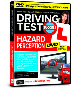 Driving Test Success Hazard Perception  DVD Interactive 2021 Edition (DVD Video)