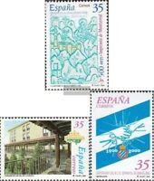 Spanien 3529,3535,3538 (kompl.Ausg.) postfrisch 2000 Sondermarken