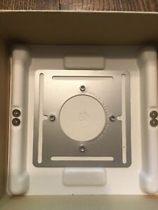 Nest 3rd Generation and Learning Thermostat Steel Wall Mount Plate - NEW