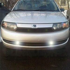 2003 2004 Saturn Ion Xenon Foglamps Bumper Foglights Driving Fog Lamps Lights