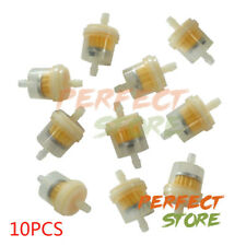 "10x 1/4"" Inline Gas Fuel Filter for Honda Yamaha Small Engine Lawn Mower 6mm/8mm"