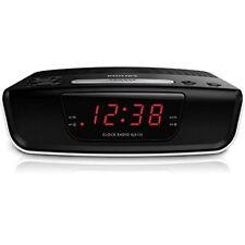 Radio réveil noirs affichage 24 heures pour la maison