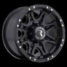 "RACELINE RAPTOR BLACK ALLOY WHEELS 18X9"" HILUX L200 MITSUBISHI FORD RANGER DMAX"
