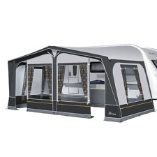 Dorema Starcamp Cameo Size 10 - 875-900 Full Size Awning Steel Frame Charcoal