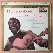 THE JOLSON STORY Rock-a-bye Your Baby US PRESS LP