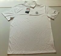 NWT Nike Golf Dri Fit 2016 Birley Cup Invitational White Polo Shirt Size Large L