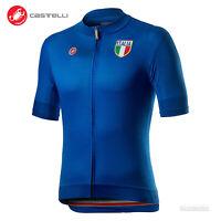NEW Castelli ITALIA 20 National Team Retro Full Zip Cycling Jersey