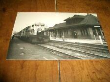 MIDDLETOWN, NY - POSTCARD of ERIE RAILROD STATION - PICTURE 1974 - VERY GOOD