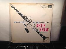 ARTIE SHAW - Both Feet In The Groove ~ RCA 1201 {orig} [RARE ANDY WARHOL COVER]