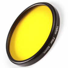 49mm Full Yellow Color Circular Filter for Canon Nikon Sony DSLR Camera Lens