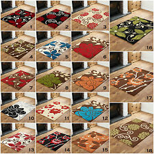LARGE RUG MODERN MULTI COLOR and SIZE'S HIGH QUALITY FLOWERY DESIGN DISCOUNT RUG