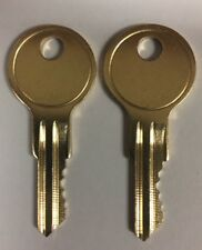 2 Home Depot Tool Box Keys Cut to Code A01 - A20 R601 - R620 B01-B05 0001-0010