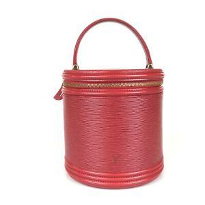 100% authentic Louis Vuitton Epi Cannes M48037 handbag used 1057-3-e@2