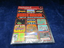 Namco Museum 50th Anniverssary for Playstation 2  PS2 *NEW/GREATEST HITS*