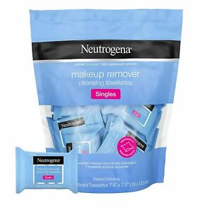 Neutrogena Makeup Remover Cleansing Towelettes 20 Singles Travel Pack