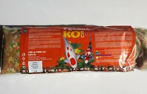 1kg Koi Mix Floating Pond Food MAINLY flake with some pellets & gammarus BBE3/22