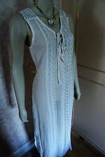 PRIMARK CHEESECLOTH CROCHET LACE COVERUP FOR BEACH LARGE,  ( XLARGE ) CLEARANCE