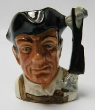 Royal Doulton Character Toby Mug Jugs from Williamsburg Gunsmith D 6537 2 1/2""