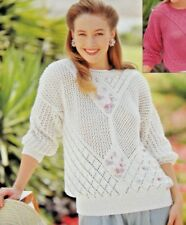 Jaeger Contemporary Sweaters Crocheting Knitting Patterns For Sale