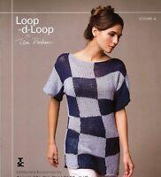 Loop D Loop #4 Teva Durham Tahki Stacy Charles Knitting Instruction Patterns NEW
