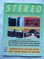 STEREO 7/94 JAMO 507,KEF Q 70,PIEGA LDS 1.6,TOP AUDIO SCHICK,VISOTON V 17,SME 20