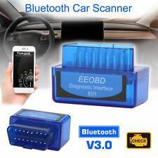 Bluetooth V3.0 For Android Torque Fault  Code Reader Scanner Car Diagnostic Tool