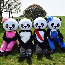 Panda Mascot Costume Suit Cosplay Party Game Dress Outfit  Halloween Adult