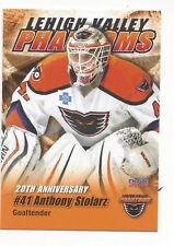 2015-16 Lehigh Valley Phantoms (AHL) Anthony Stolarz (goalie)