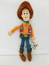 "Disney Store Christmas Holiday Woody Pixar Toy Story 18"" Plush Doll NEW w/TAG"
