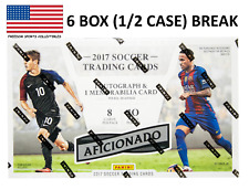 England 2017 Panini Aficionado Soccer 6BOX (1/2 CASE) Break #4