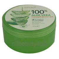 100% Pure ALOE VERA SOOTHING & MOISTURE GEL 300ml (10.58oz) - Made in Korea