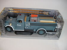 "Hard To Find 1/16 Highway 61 1941 Chevrolet ""RAF"" Firetruck Pumper NIB!"