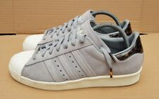 ADIDAS SUPERSTAR 80's TRAINERS SIZE 6.5 UK RARE GREY TORTOISE SHELL IMMACULATE
