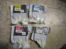 4PK New ! Genuine Brother LC65HY Ink Cartridge MFC-5890CN LC65HY-BK LC65HYCL