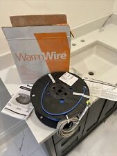 WarmWire Electric Floor Warming Cable 100 Square Feet 120v 0840213211943