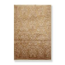 """4'2"""" x 6'1"""" Hand Knotted 100% Wool Tibetan Oriental Area Rug Traditional Sage"""