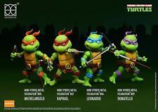 Teenage Mutant Ninja Turtles Hybrid Mini Metal Action Figure 4-Pack Herocoss