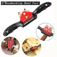 """9"""" Metal Adjustable Woodworking Blade Cutting Trimming  Manual Planer Deburring"""