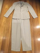 Blue mallee Size 10 Grey Two Piece Suit Business Work office Very Good Condition