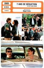 7 ANS DE SEDUCTION - Kutcher,Peet,Cole (Fiche Cinéma) 2005 - A Lot Like Love