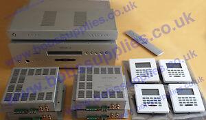 Opus Multi-room System MCU500 WCU500 DZM20 VSU500 SRC500  4 zones+4sub zones