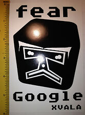 XVALA Fear Google Sticker Decal Graffiti Street Art