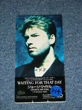 "GEORGE MICHAEL WHAM! Japan ESDA-7059 1990 Tall 3""inch CD Single WAITING FOR THAT"