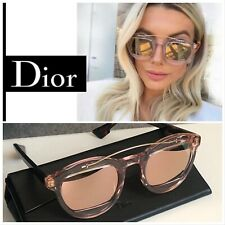 Christian Dior Mania 1 Crystal Rose Havana Mirror Sunglasses