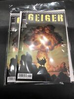 Geiger #1 Geoff Johns New IMAGE Comics series 1 A cover 2 Copies